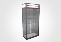 Freestanding Showcases & Glass Vitrines