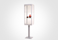 Pedestal Vitrines & Glass Showcases