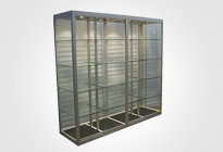 Steel Showcases & Glass Vitrines